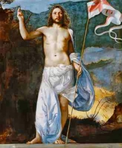 Titian - The Risen Christ (ca 1511) 400-25
