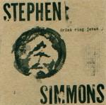 Stephen Simmons Drink Ring Jesus