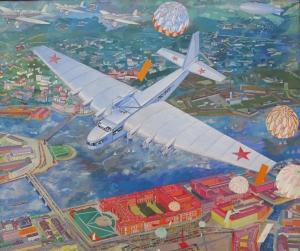 Vasily_kuptsov,_Maxim_Gorky_ANT-20,_1934